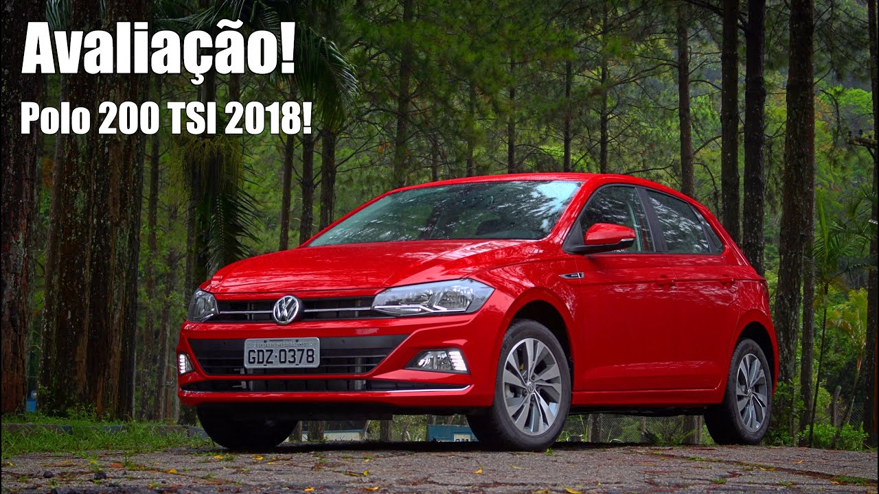 volkswagen polo 1 0 tsi highline 2018 avalia o falando. Black Bedroom Furniture Sets. Home Design Ideas