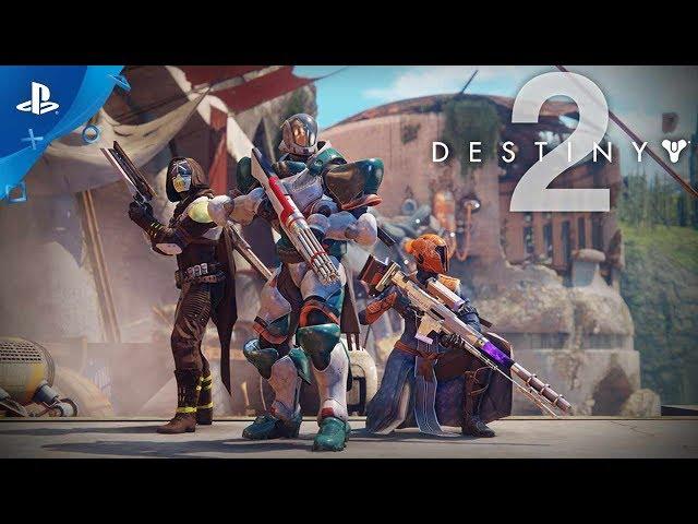 Destiny 2 - PS4 Exclusive Content Trailer | E3 2017