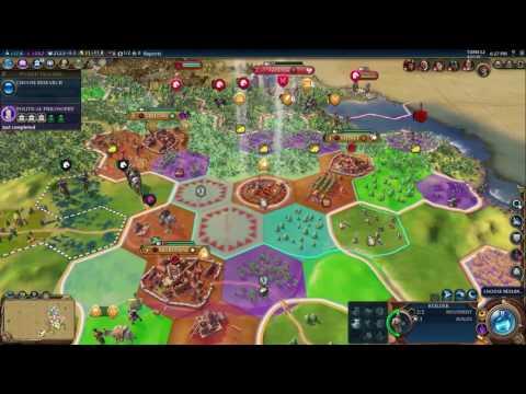 Civilization VI: Australia, Deity, Cultural Victory #02