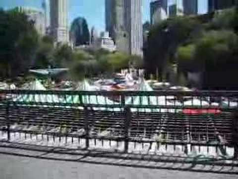 A walk thru Central Park - Wollman Rink