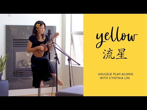 Yellow (chinese Coldplay Cover) // Crazy Rich Asians // Cynthia Lin Ukulele