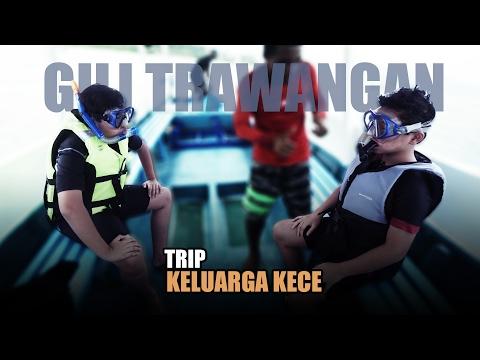 SALVA & SULTAN KALI PERTAMA SNORKELING   #LiburanKeluargaKece - PART 1