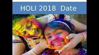 2018 HOLI II  Festival Date & Time in India II HOLI 2018 DATE II