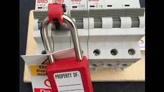 Locking off Circuit Breakers