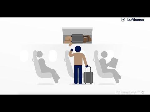 How to: Handgepäck sicher verstauen | Lufthansa