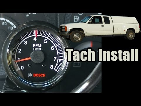 auto meter sport comp tach wiring how to install a    tach    tachometer installation  autometer  how to install a    tach    tachometer installation  autometer