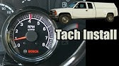 How To Install A Tachometer. - YouTube Mallory Tachometer Wiring Diagram Amc Equus on