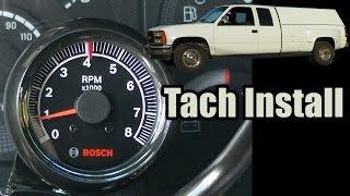 91 GMC C3500 Dually Tach Install 454 TBI - YouTubeYouTube
