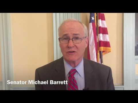 Senate Sidelines with Senator Michael Barrett