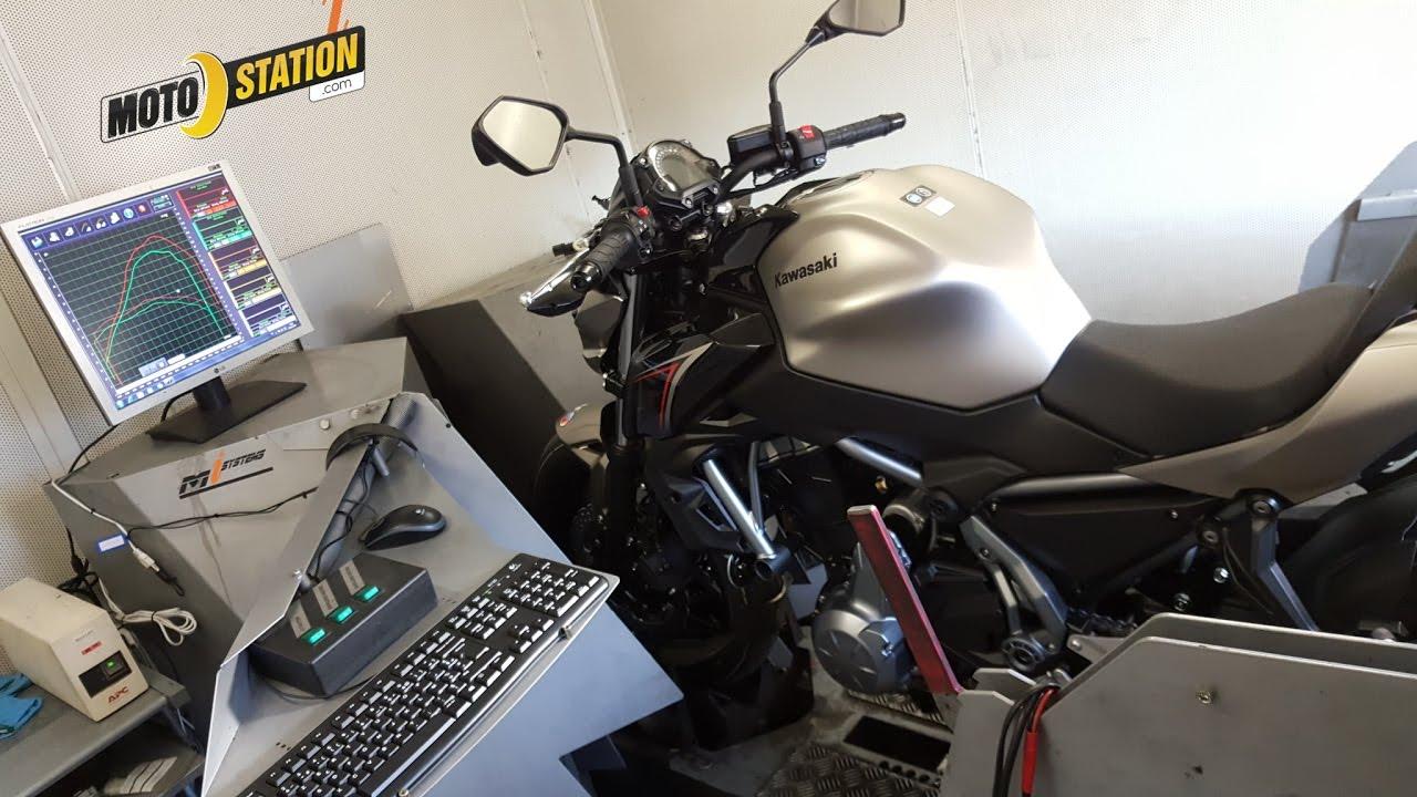 Kawasaki Z650 Vs Yamaha Mt07  Passage Au Banc  Youtube