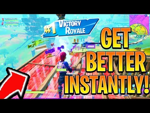 How To Get BETTER/IMPROVE in Fortnite Fast! Fortnite Ps4/Xbox! (How To Win Fortnite Console Tips)