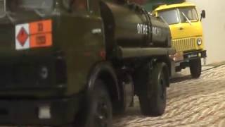 МАЗ-5337 АЦ-9 бензовоз від Автоистории огляд 1:43
