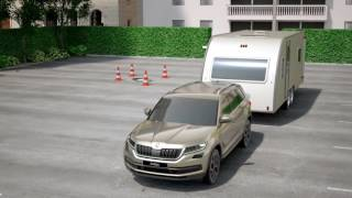 SKODA Kodiaq Trailer Assist