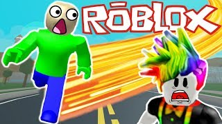 BALDI PLAYS ROBLOX LEGENDS OF SPEED! | Multiplayer Roblox Gameplay | Roblox RP