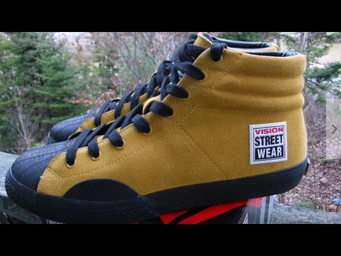vision street wear shoes unboxing and