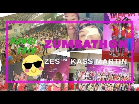 VLOG#9 | HANOI TRIP | ZUMBATHON  | KASS MARTIN | Michelle Vo and Friends