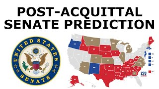 Post-Acquittal 2020 Senate Prediction After the acquittal, the 2020 Senate map has some subtle yet decisive differences. Patreon: patreon.com/redeagletv/ Discord: discord.gg/ZPMKZY7 ..., From YouTubeVideos