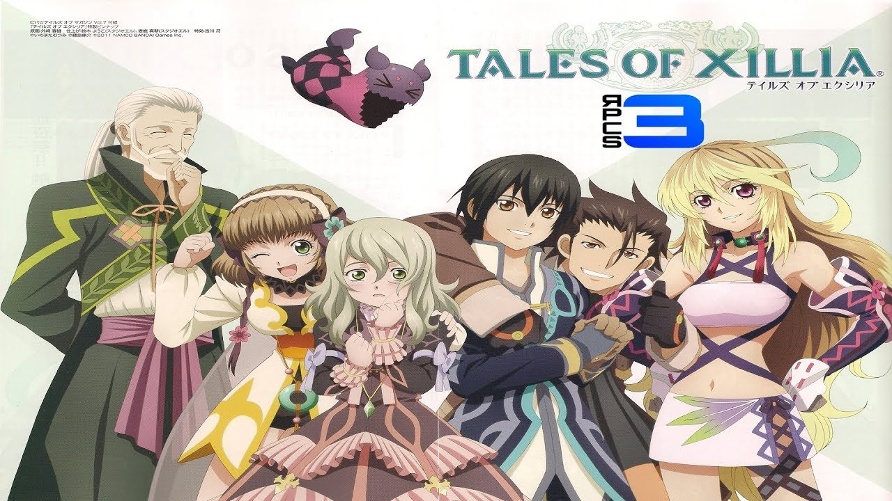 Tales of Xillia - RPCS3 TEST 2 (InGame / Playable?)