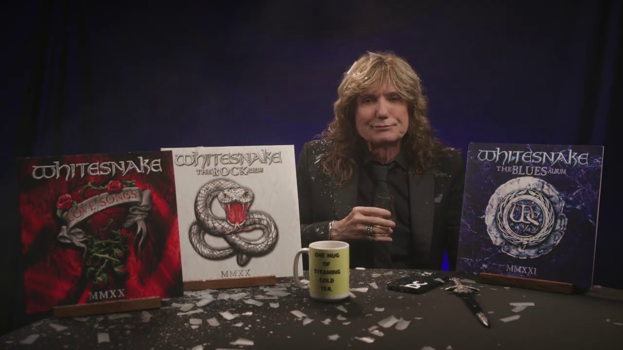 The Third & Final Part Of The Red, White & Blues Trilogy with David Coverdale