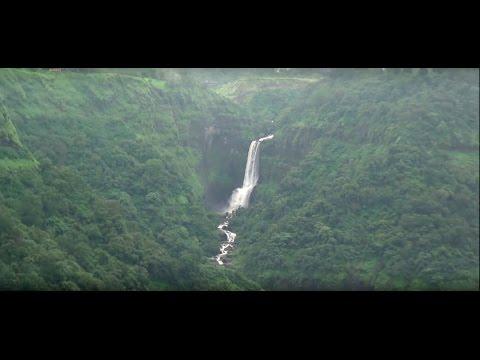 Beautiful Khandala Hill Station - Waterfalls, Clouds, Greenery, Trains, Mumbai Pune Expressway etc