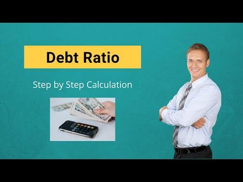 debt ratio formula