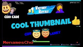📺Menamescho's LIVE Ps4 🏁 CHO & LANKY SHOW 🏁 GET READY 🎮🎬 Fortnite Battle Royale - 29th July