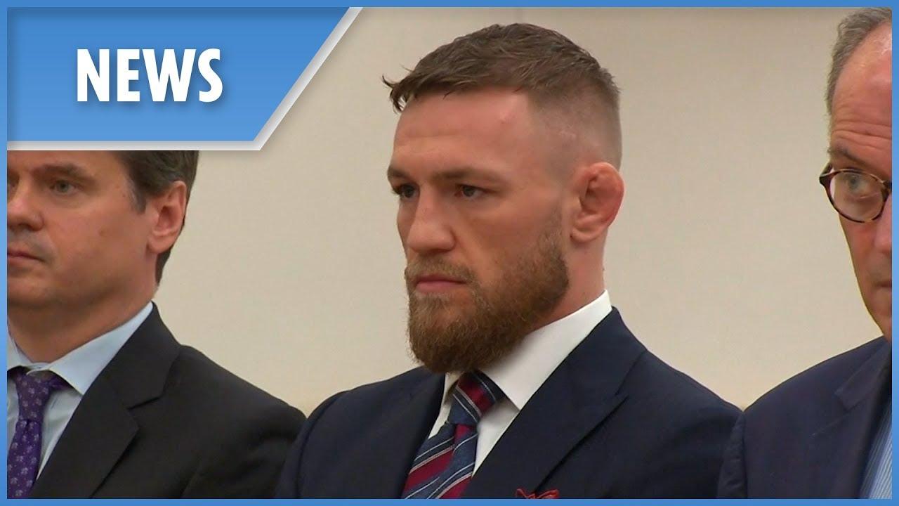 Conor McGregor pleads guilty in court