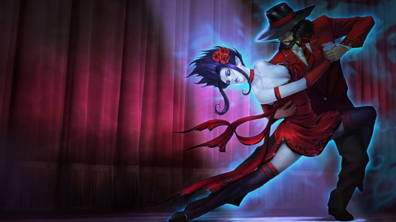 skin evelynn tango league of legends youtube