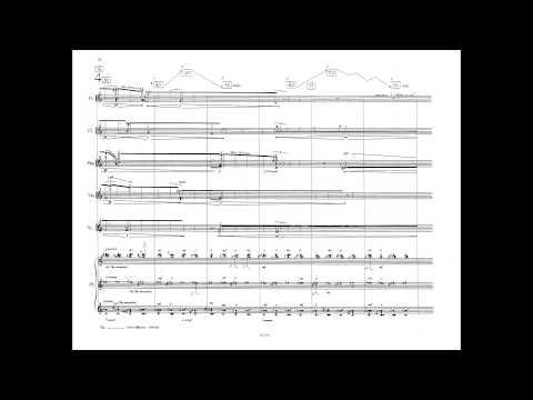 Gérard Grisey - Vortex Temporum (w/ score) (for six instruments) (1995)