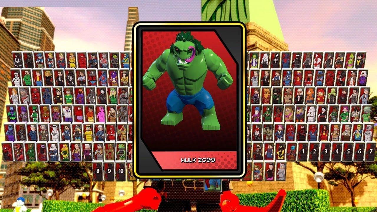 √ Lego Marvel Superheroes 2 Maximum Carnom Unlock   Carnom