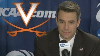 Virginia Talks After Win vs Coastal Carolina | 2014 NCAA Tournament