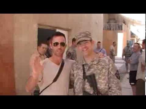 Jeffrey Donovan in Iraq.