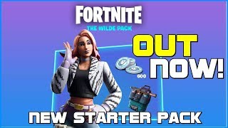 NEW STARTER PACK // THE WILDE PACK // FORTNITE BATTLE ROYALE