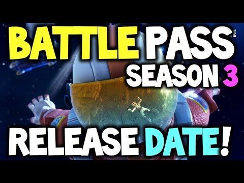 Fortnite Battle Pass Season 3 - RELEASE DATE! - ALL DETAILS! + Skin Previews (Battle Royale)