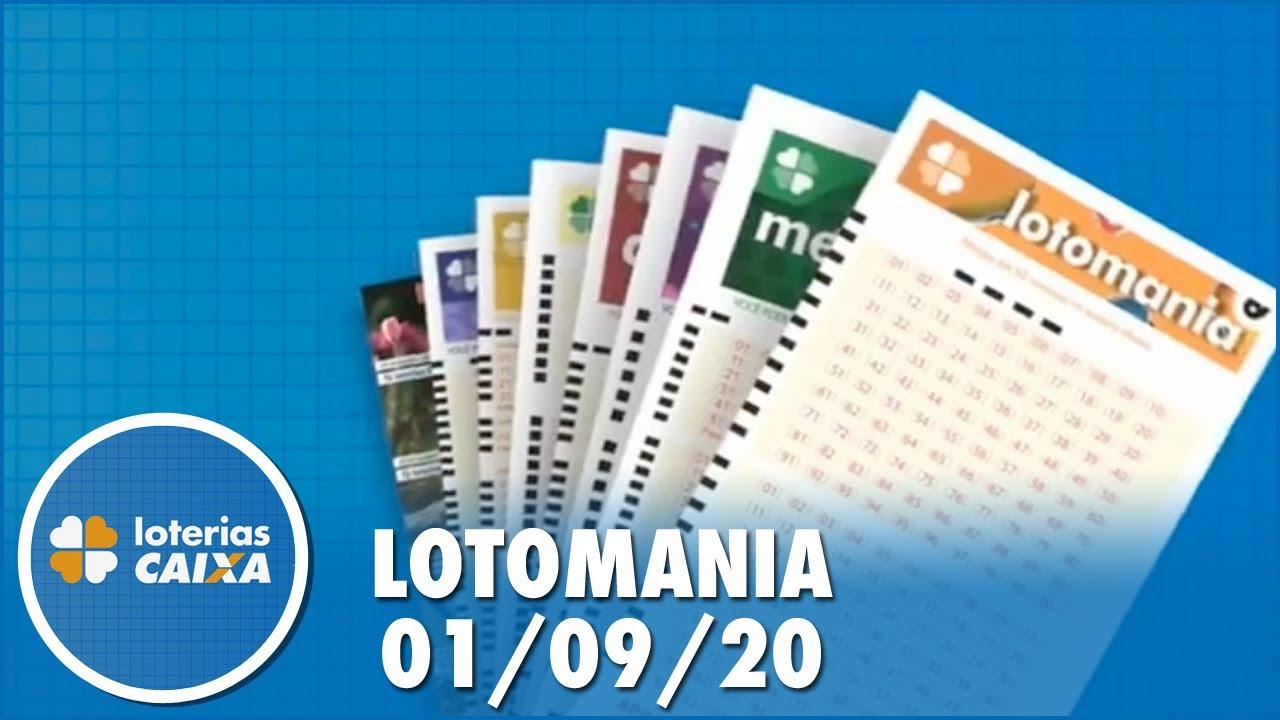 Resultado da Lotomania - Concurso nº 2105 - 01/09/2020