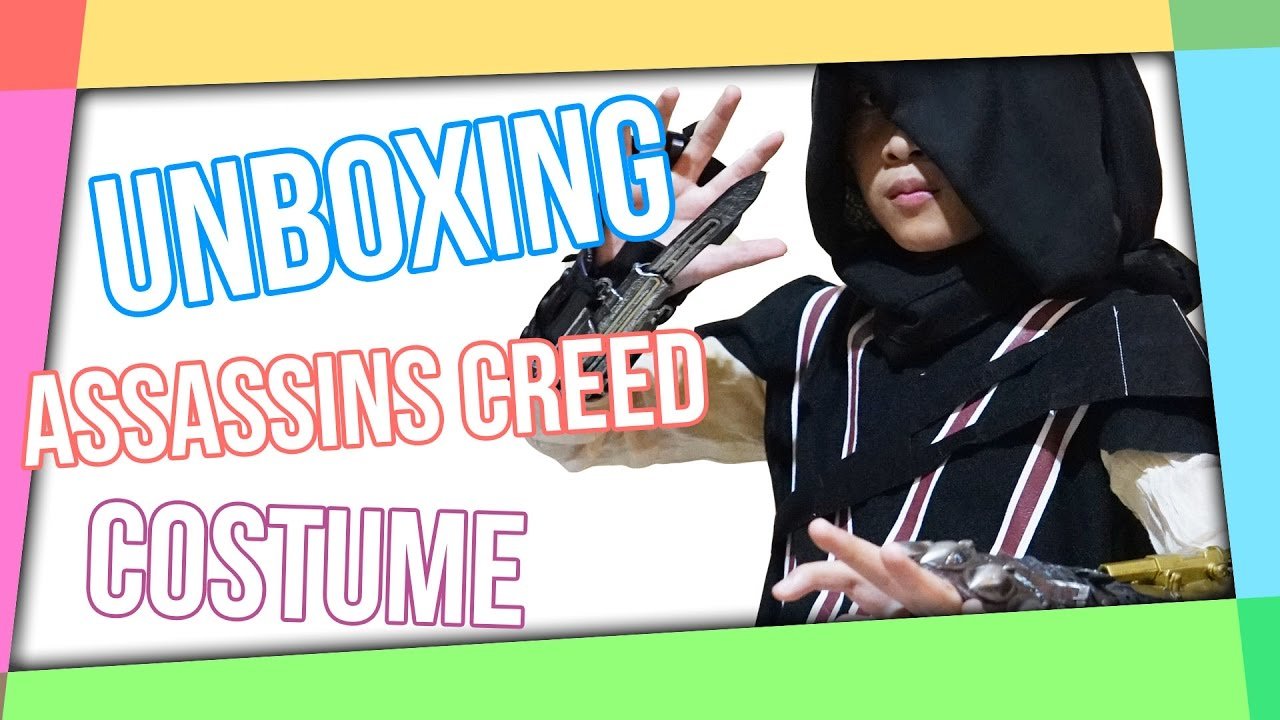 Unboxing - Assassins Creed Costume - YouTube