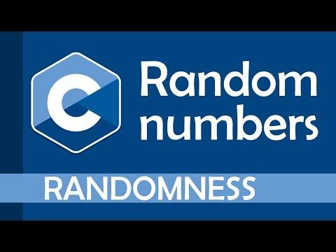 Random Number Generation In C
