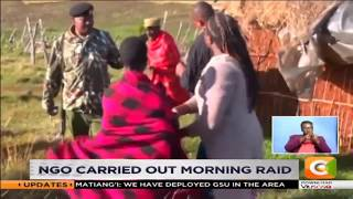 Girls rescued from the cut in Narok west