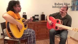 Thumb tips 1 / Learn Paco de Lucia´s technique/ Ruben Diaz flamenco guitar lessons Spain