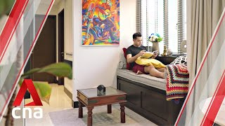 Making Room: A colourful, cosy 517 sq ft condo for a busy bachelor | CNA Lifestyle