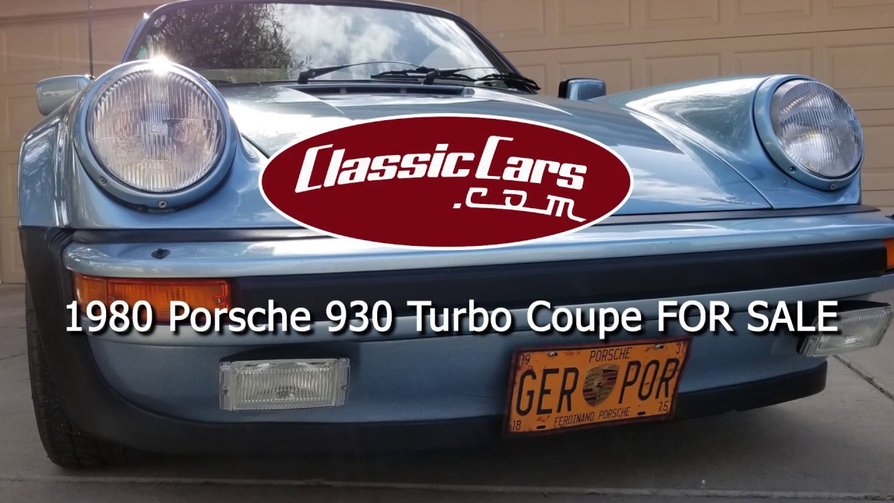 1980 Porsche 930 Turbo Coupe For Sale Youtube