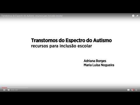 Видео A inclusão com transtorno do aspecto do autismo no ensino regular
