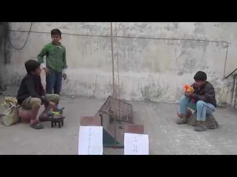 India Pakistan Border Comic Reality