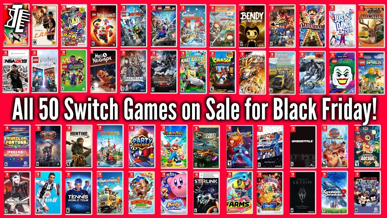 Black Friday: The best Nintendo Switch deals for consoles ...