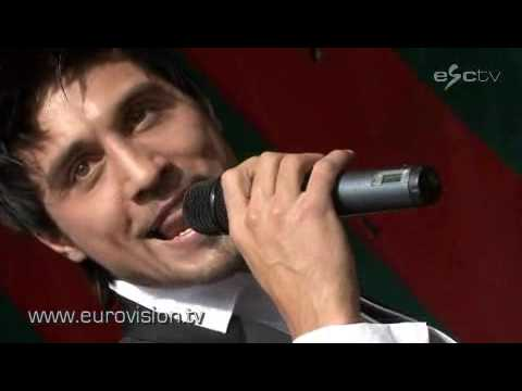 Dima Bilan from Russia to Eurovision 2008 with Believe!!!