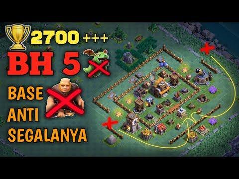 Base Terbaik Aula Tukang Level 5 | Clash Of Clans INDONESIA