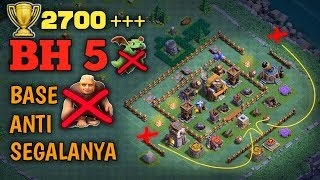 Base Terbaik Aula Tukang Level 5 | Clash Of Clans INDONESIA