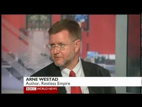 RESTLESS EMPIRE author, Odd Arne Westad, on the BBC World News