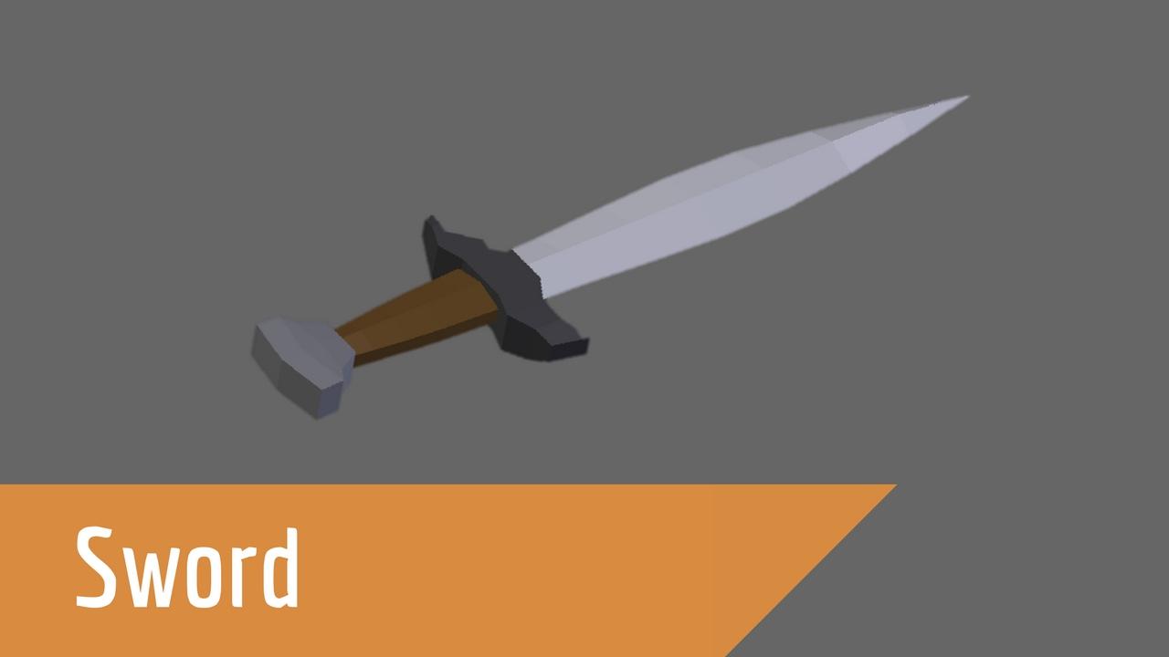 Fantasy Rpg Sword Blender 3d How To Youtube
