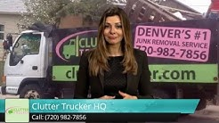 Colorado Springs Junk Removal - Refrigerator Recycling - Hoarding Cleanup